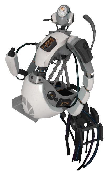 Glados Portal Portal 2 Original Design Britthebadger
