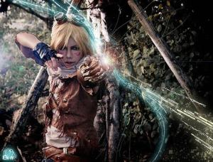 Ezreal cosplay: Cosplayer  Unknown