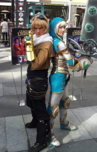 Ezreal Cosplay by Kohalu Cosplay