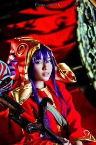 Lulu Cosplay by KiraHokuten (http://kirahokuten.deviantart.com/art/Lulu-322706327)